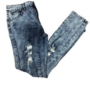 AMERICAN QUALITY JEANS ACID WASH DISTRESS …